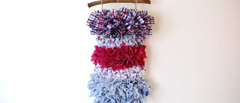 Rag Rug and Sip – Boho Wall Hanging