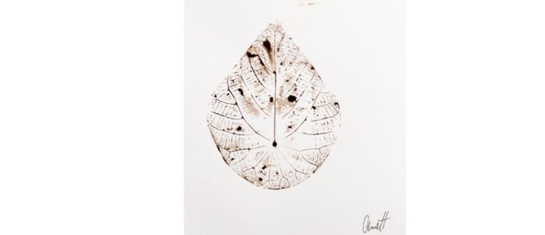 Leaf Printing and Ink Making Workshop with Anne Harris