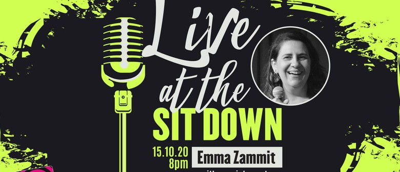 Live at The Sit Down with Emma Zammit