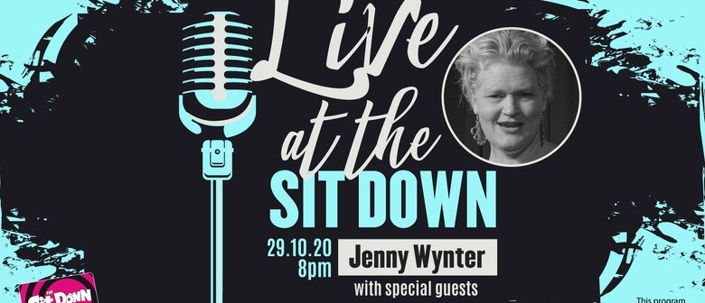 Live at The Sit Down with Jenny Wynter