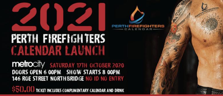 2021 Perth Firefighters Calendar Launch