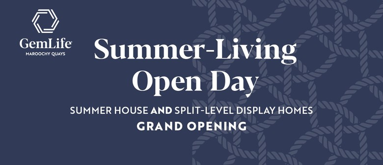 GemLife Maroochy Quays Summer-Living Open Day