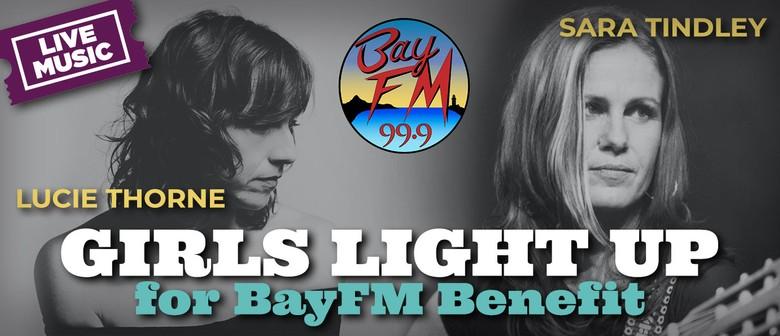 Girls Light Up for BayFM Benefit