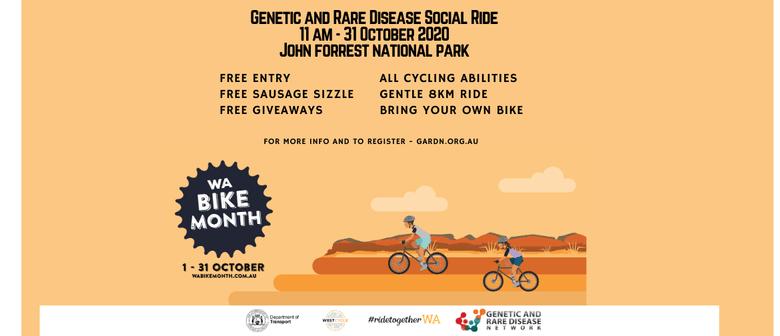 Genetic and Rare Disease Network Social Ride