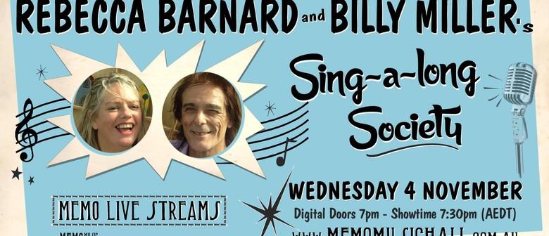 MEMO Live Streams: Rebecca & Billy's Sing-Along Society