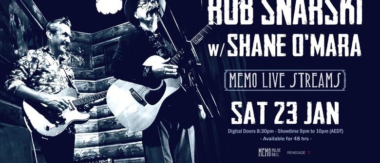 MEMO Live Streams: Rob Snarski & Shane O'Mara