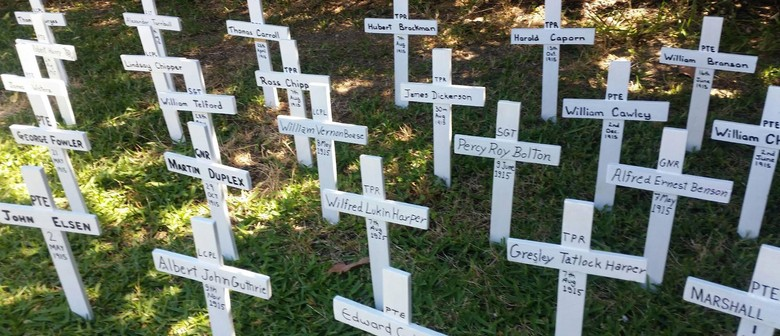 Remembrance Day at ANZAC Cottage