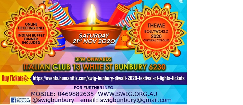 SWIG Bunbury Diwali 2020-Festival of Lights