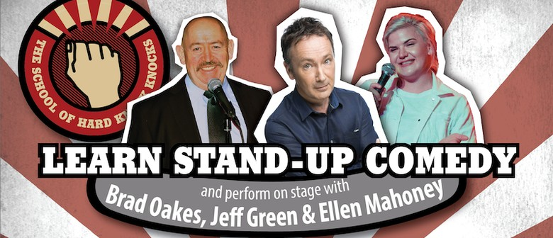 Learn Stand-Up Comedy in Melbourne with Jeff Green