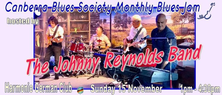 CBS Blues Jam hosted by The Johnny Reynolds Band