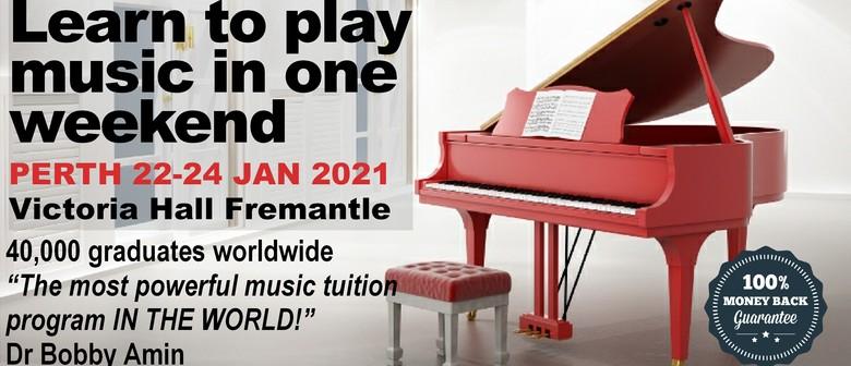 Understanding Music Seminar - Perth 2021