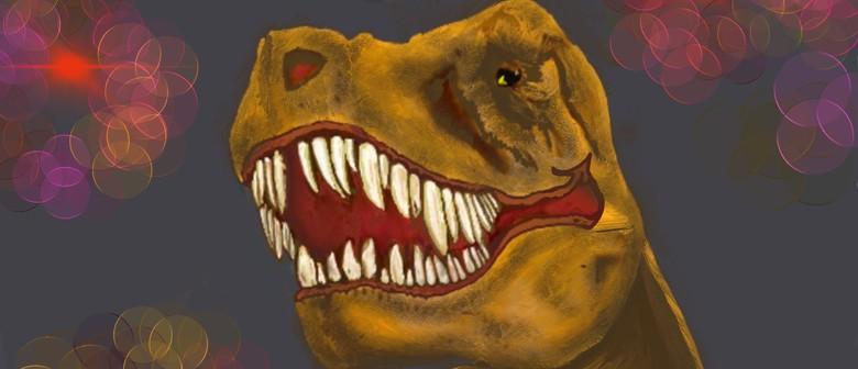 Kids Art workshop: Draw a Tarbosaurus