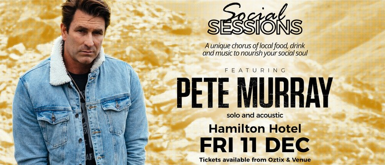 Pete Murray - Social Sessions