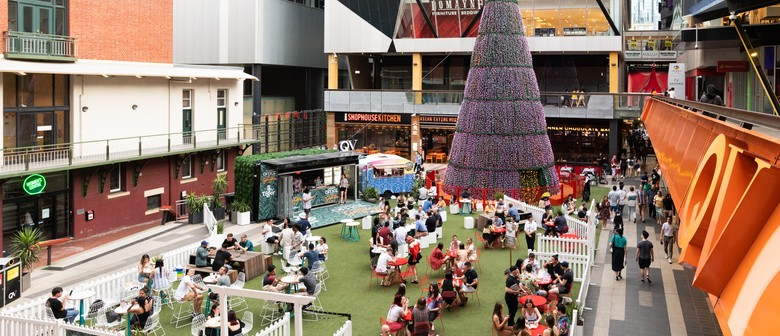 QV Melbourne's New Pop-up Bar and Christmas Hub