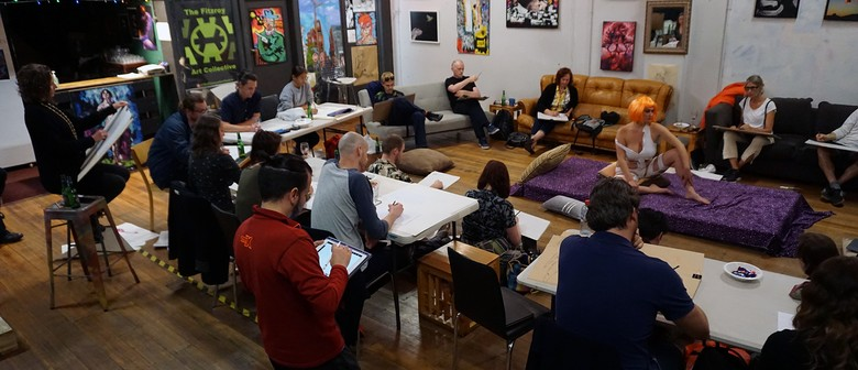Life Drawing at The Fitzroy Art Collective