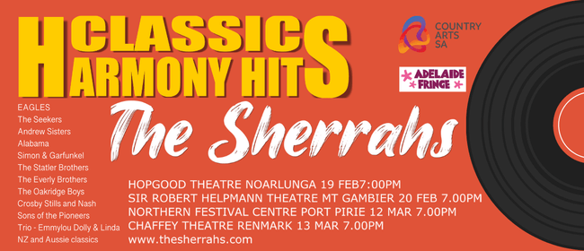 Image for Classic Harmony Hits with The Sherrahs