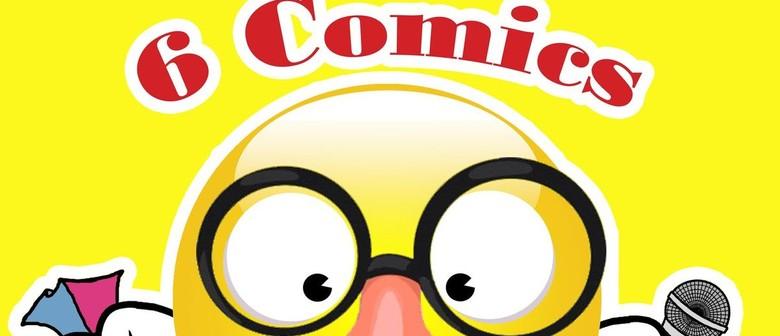 BonkerZ Presents 6 Comics Laugh-A-Thon