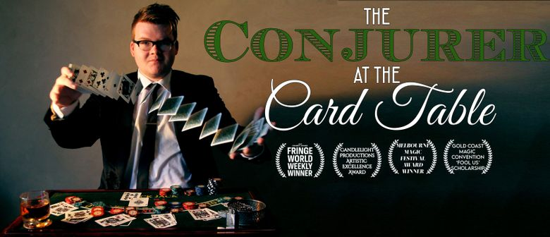 Josh Staley: The Conjurer at the Card Table