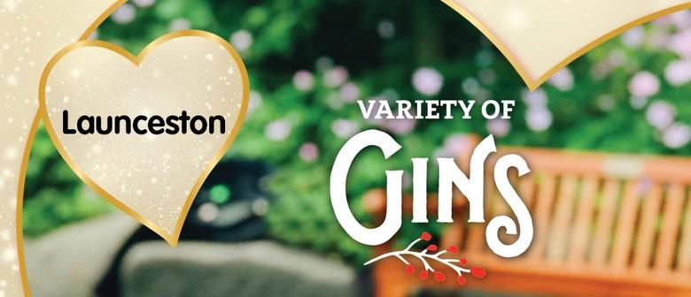 Variety of Gins Launceston 2021
