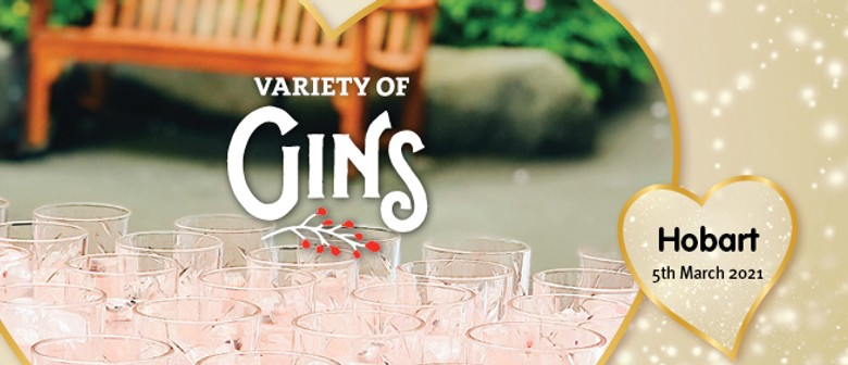 Variety of Gins Hobart 2021
