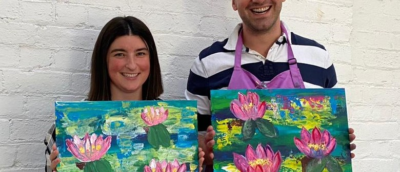 Paint and Sip Class: Palette Knife Monet Painting