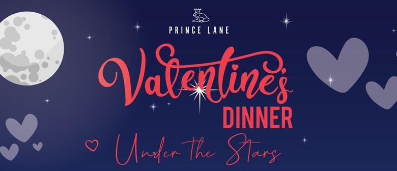 Valentine's Dinner Under the Stars