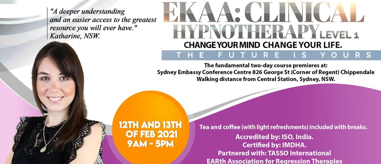 EKAA Integrated Clinical Hypnotherapy Level 1
