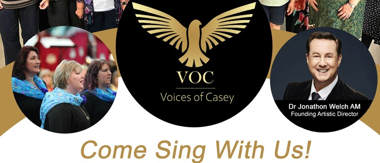 Calling All Singers to Join Voices of Casey