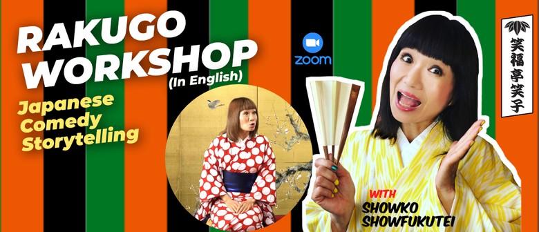 Rakugo Workshop! Online Japanese Comedy Storytelling