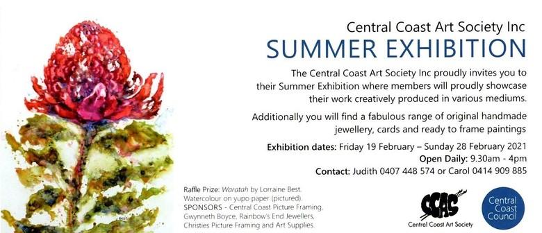 Central Coast Art Society Summer Exhibition 2021