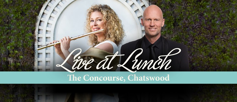 LIVE AT LUNCH: Figaro, Flutes and Flowers!