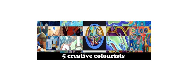 5 Creative Colourists Opening Event