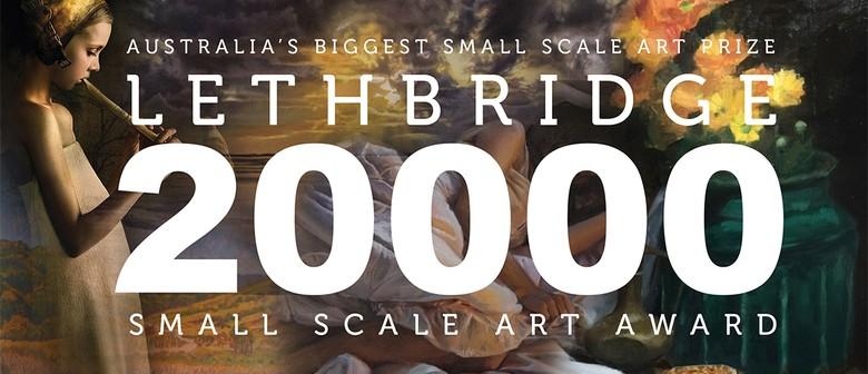 Lethbridge 20000 Small Scale Art Award Opening