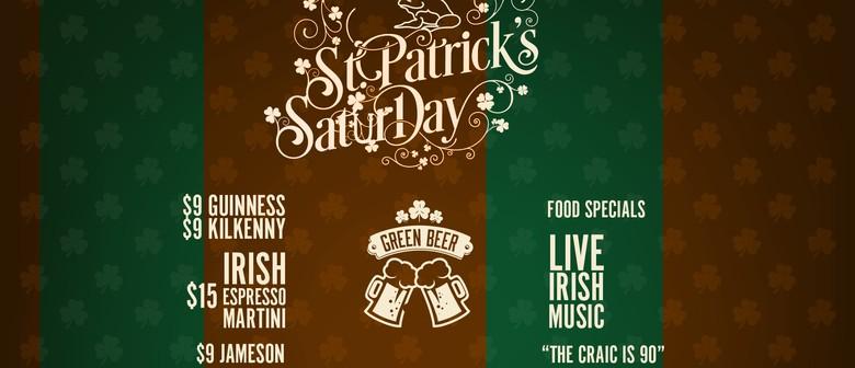 St Patrick's Saturday