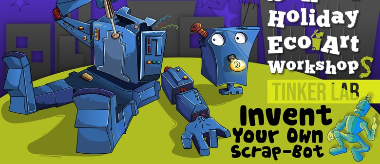 Tinker Lab - Invent Your Own Scrap-bot
