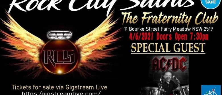 Rock City Saints with Special Guest (Tony Currenti)