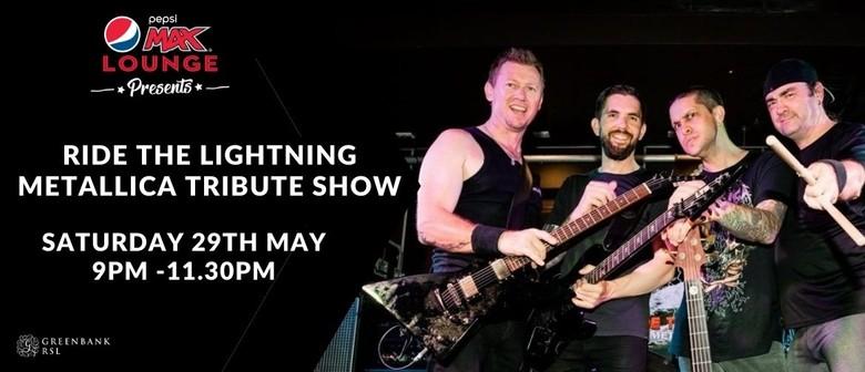 Ride the Lightning Metallica Tribute Show