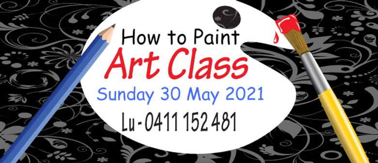 """""""How to Paint"""" Class"""