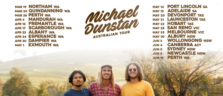 Michael Dunstan 'Above The Falls' WA Tour: SOLD OUT