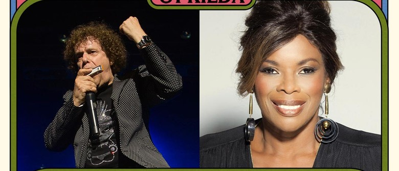 Leo Sayer and Marcia Hines