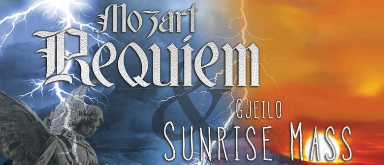 Mozart Requiem and Sunrise Mass