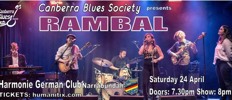 Rambal - 'Hold Your Fire' Album Tour
