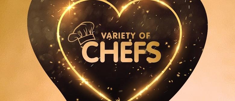 Variety of Chefs 2021