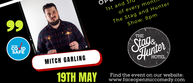 Punchline Comedy with MC Mitch Garling