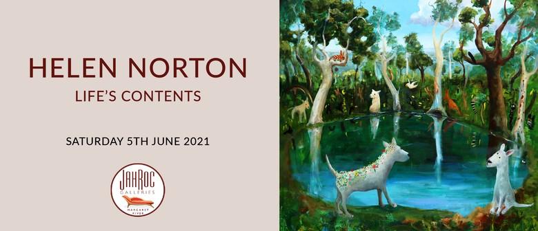 "Helen Norton ""Life's Contents"" Exhibition Opening Night"