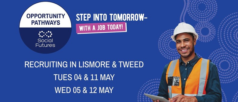 Step Into Tomorrow - With a Job Today!