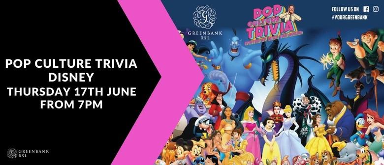 Pop Culture Trivia Disney