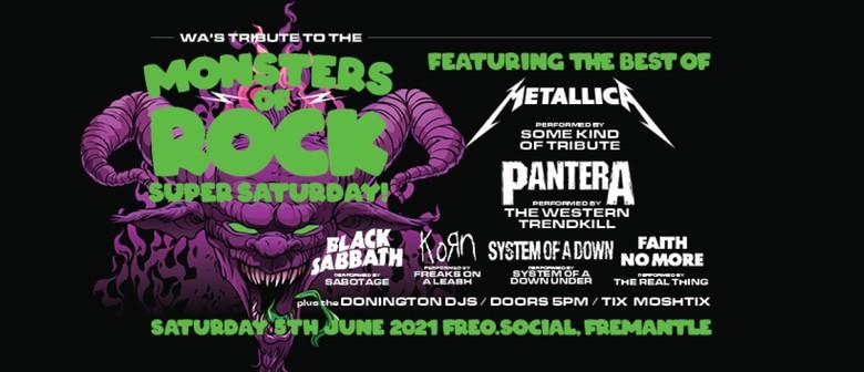 Monsters of Rock - WA's Tribute Salute - Super Saturday