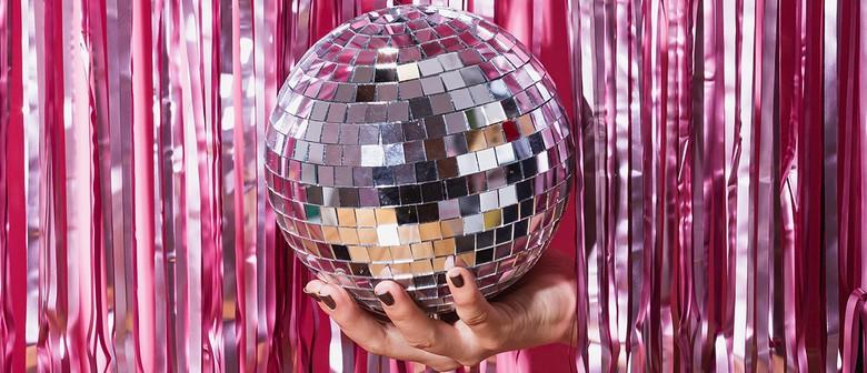 Disco Rainbow Sparkle Dance Party