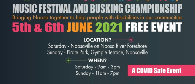 Noosa Come Together and Busking Championships